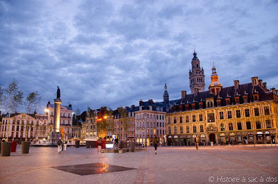 Grand place - Place Charles de Gaulle - Lille