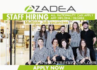Multiple Job Vacancies Qatar Kuwait Uae Saudi Arabia Bahrain Oman Azadea Group Cynosure365