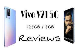 Vivo V21 5G 44MP OIS Night Selfie Camera ( Sunset Dazzle, 128 GB ) ( 8 GB RAM ) Best Review