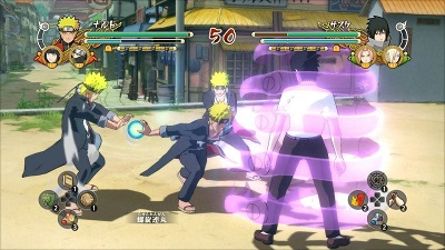 Naruto Shippuden: Ultimate Ninja Storm Trilogy Gameplay