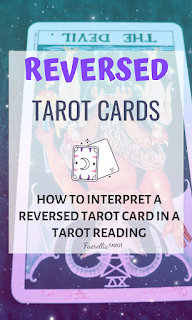 What does a reversed tarot card mean