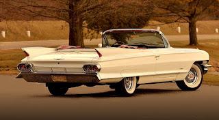 1961 Cadillac DeVille Convertible Rear Right