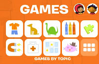 PBS Kids Games homepage
