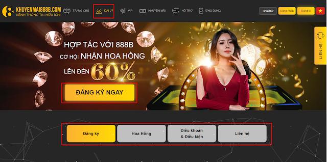 đăng ký đại lý nhà cái cá cược trực tuyến 888b việt nam