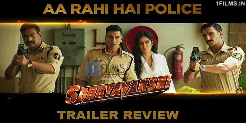 Sooryavanshi Movie Trailer Poster