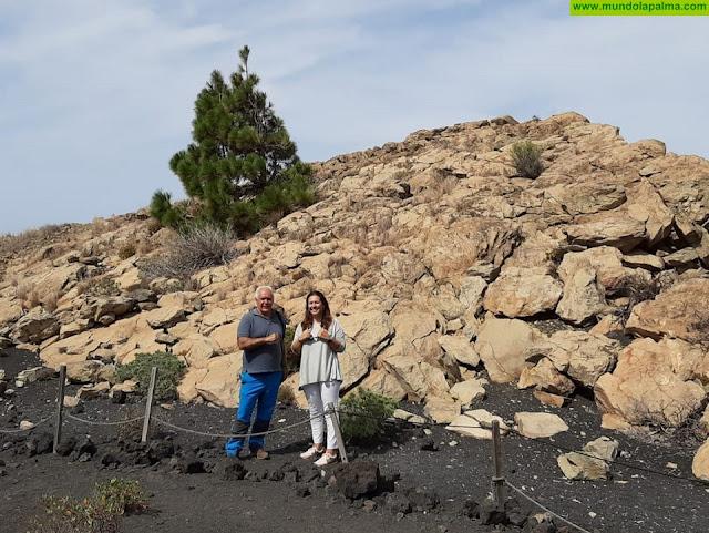 Fuencaliente protegerá y divulgará el patrimonio aborigen conservado en el Roque Teneguía