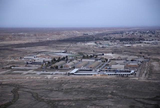 Caen misiles  en base aérea de Irak, que alberga tropas de Estados Unidos