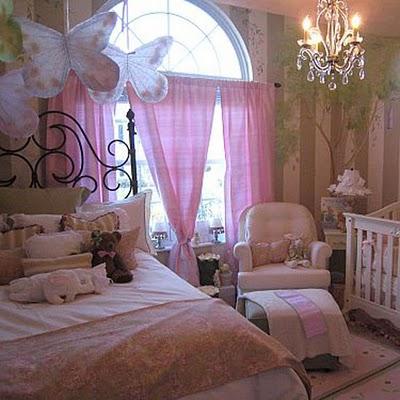 Dormitorios para ni as rom nticas y so adoras - Dosel cama nina ...