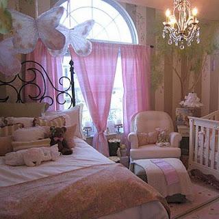 Habitación niña romántica