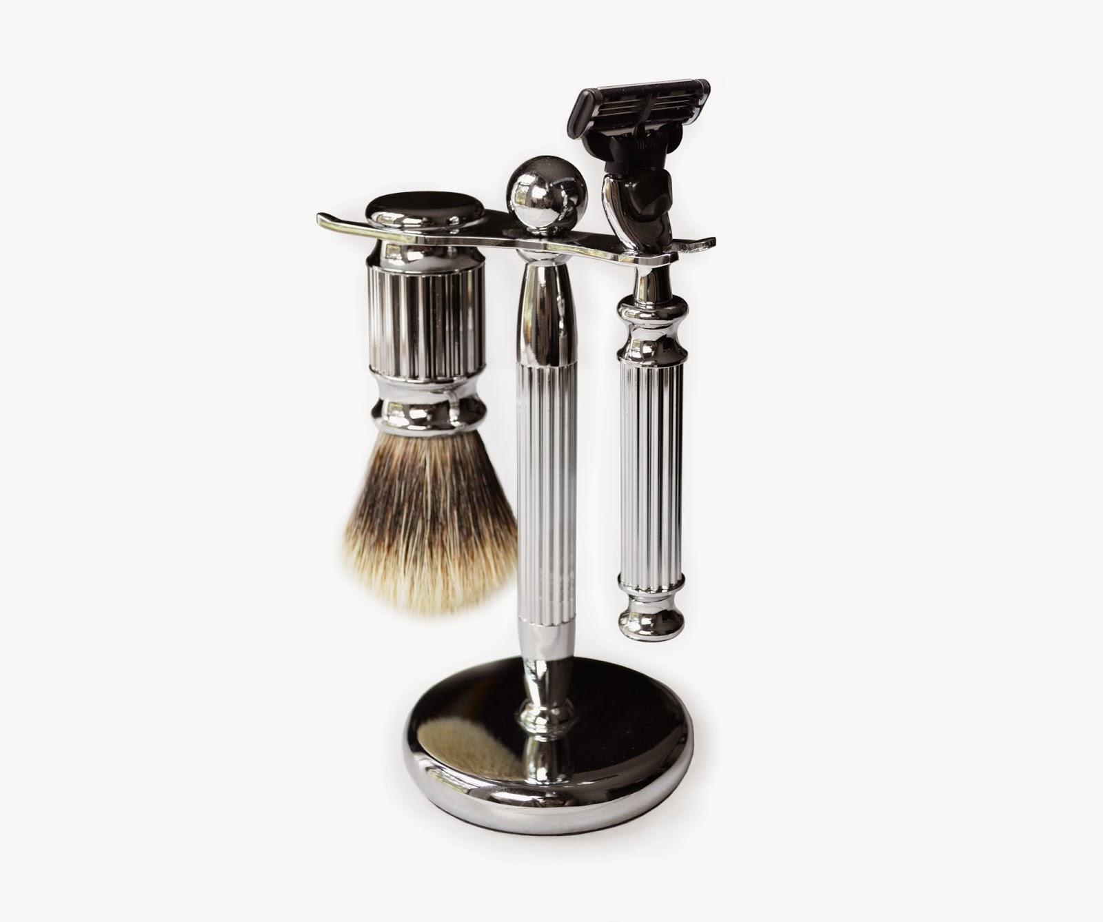 The Van Alen Deco Shaving Set, Mercer + James first creation
