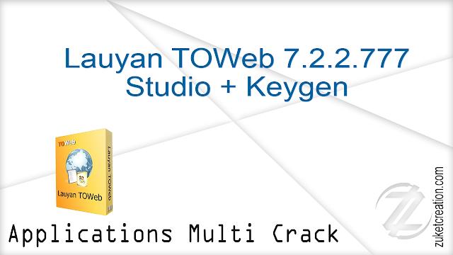 Lauyan TOWeb 7.2.2.777 Studio + Keygen    |  44 MB