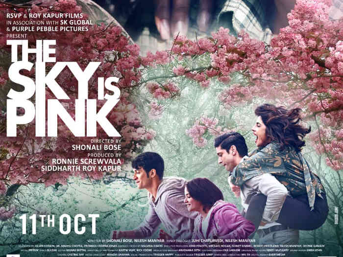 full cast and crew of movie The Sky is Pink 2019 wiki The Sky is Pink story, release date, The Sky is Pink – wikipedia Actress poster, trailer, Video, News, Photos, Wallpaper