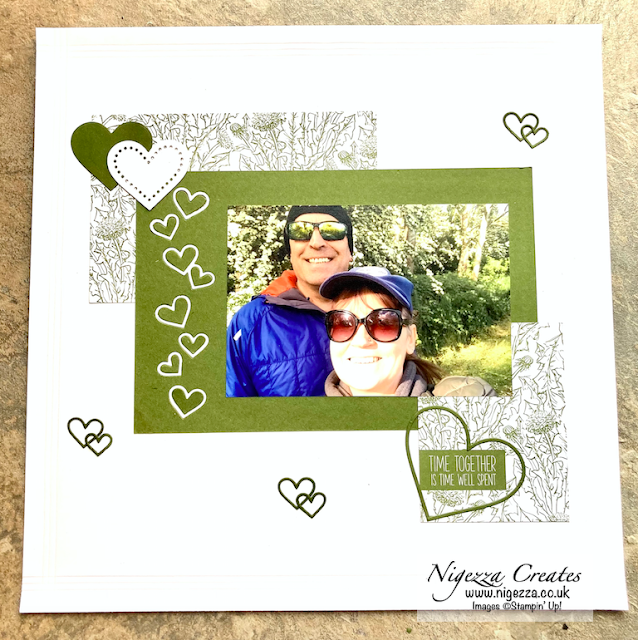 "Ink & Share Scrapbook Blog Hop February ""LOVE"""