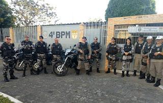 4º BPM realiza operações policiais em cidades da região