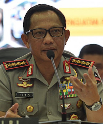 National Police chief Gen. Tito Karnavian