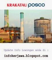 Lowongan Kerja Terbaru PT. Krakatau Posco
