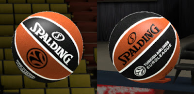 NBA 2K13 Spalding TF-1000 Legacy Ball Patch