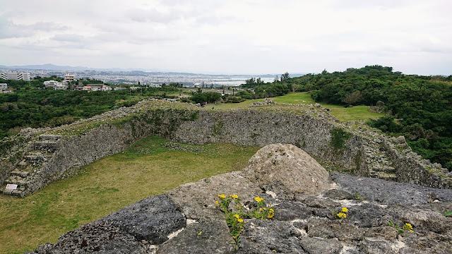 沖縄 中城城跡 世界遺産