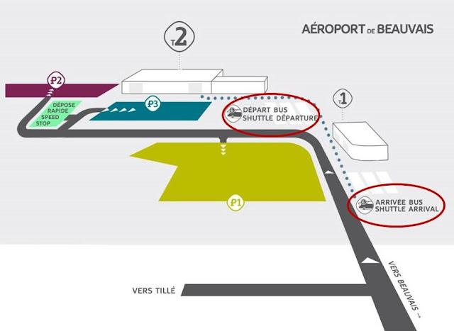 Trasferimento aeroporto Beauvais Parigi