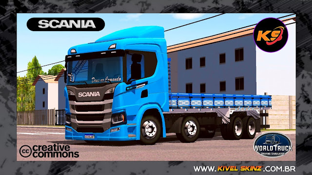 SCANIA P320 - BLUE EDITION