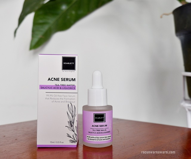 Review Acne Serum dari Scarlett