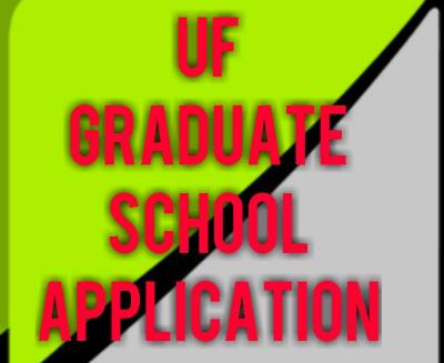 uf graduate school application