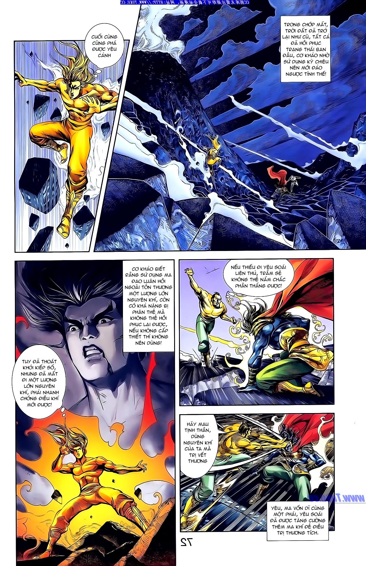 Cơ Phát Khai Chu Bản chapter 148 trang 6