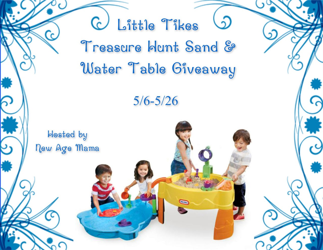 Win a Little Tike Treasure Hunt Sand & Water Table! | Whats Up ...