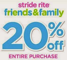 stride rite coupons 2016
