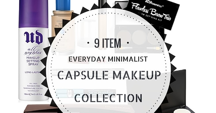 Minimise To Simplify 9 Item Everyday Minimalist Capsule Makeup Collection