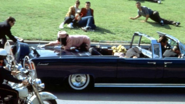 Siapa pelaku penembakan Presiden Jhon F Kennedy