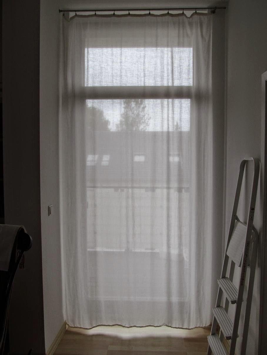vorhang balkont r swalif. Black Bedroom Furniture Sets. Home Design Ideas