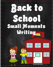 Free Back to School Writing