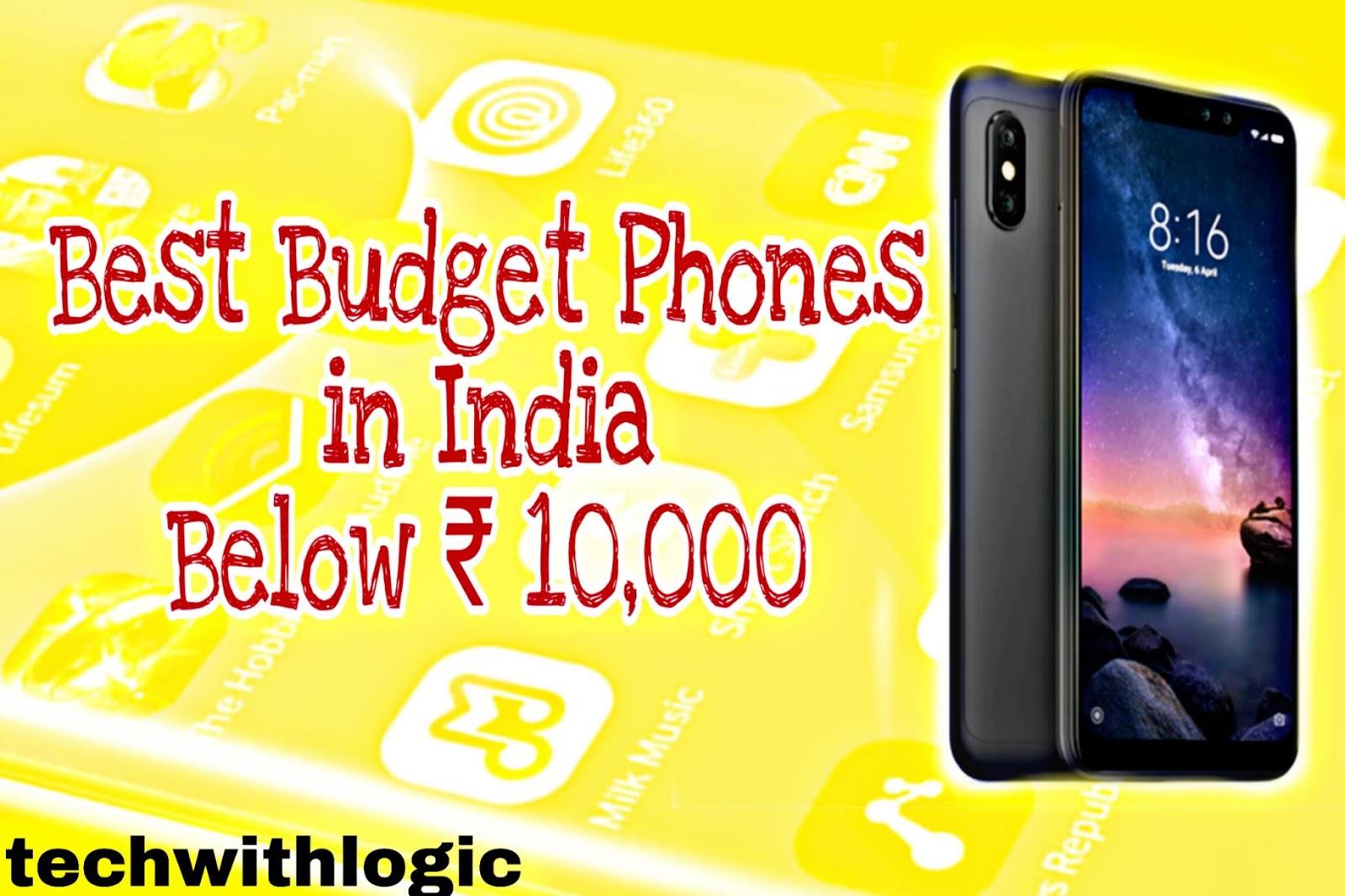 Best budget phones in India below Rs.10,000