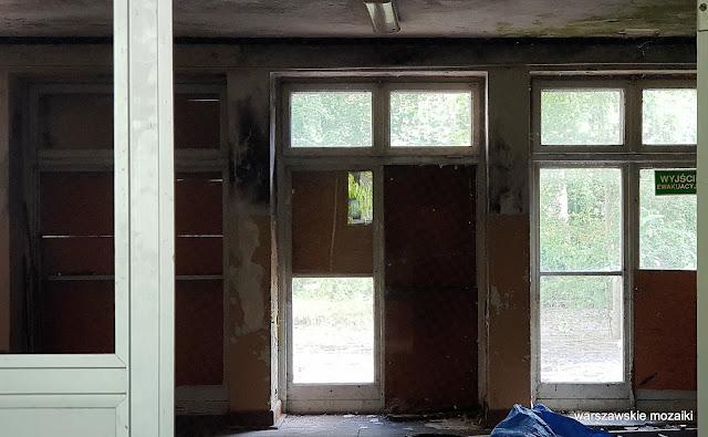 Warszawa Warsaw przedszkole Mokotów Sielce opuszczone zniszczone architektura