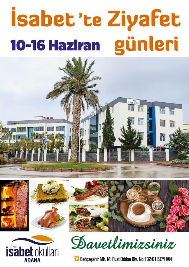 Adana İsabet'te Ziyafet Günleri