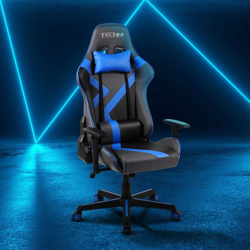 Enter To Win a TS70 Blue Geo Series Gaming Chair ( Worth Over : +$309.99)