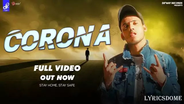 CORONA Lyrics - Young Pardhaan