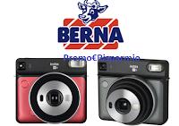 Logo Latte Berna ''Insieme ogni juorno'' : in palio 7 macchine fotografiche istantanee FUJIFILM