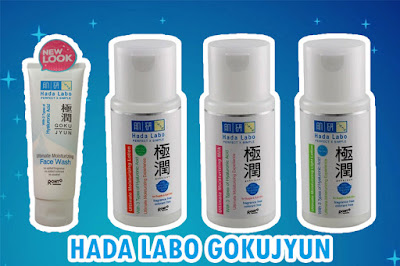 Review Hada Labo Gokujyun Ultimate Moisturizing Milk Face Wash Light Lotion
