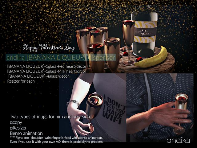 andika Feb Group Gift[Banana Liqueur]Dispenser
