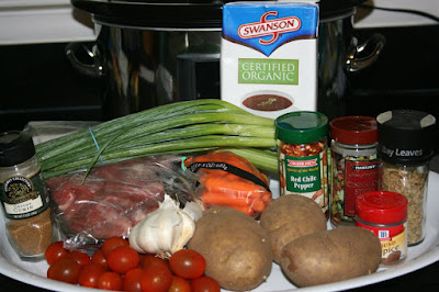 Azores Stew is a traditional Portuguese recipe. These are the ingredients.