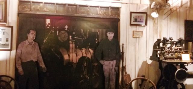 Foto da antiga oficina no Parque Temático Mundo a Vapor, em Canela