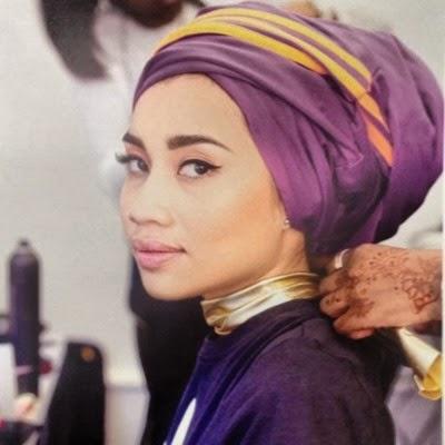 gaya tudung turban 2014 artis Malaysia