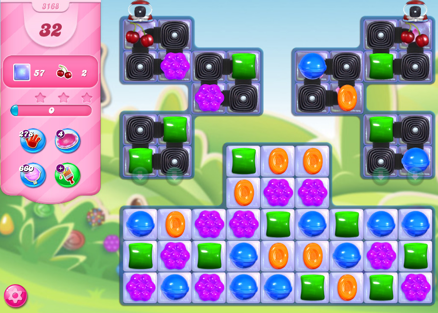 Candy Crush Saga level 3168