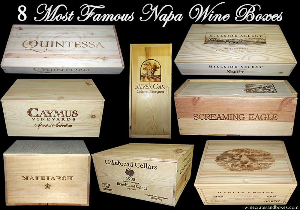 Wine crates and boxes 8 most famous wooden wine boxes of for Where to buy used wine crates