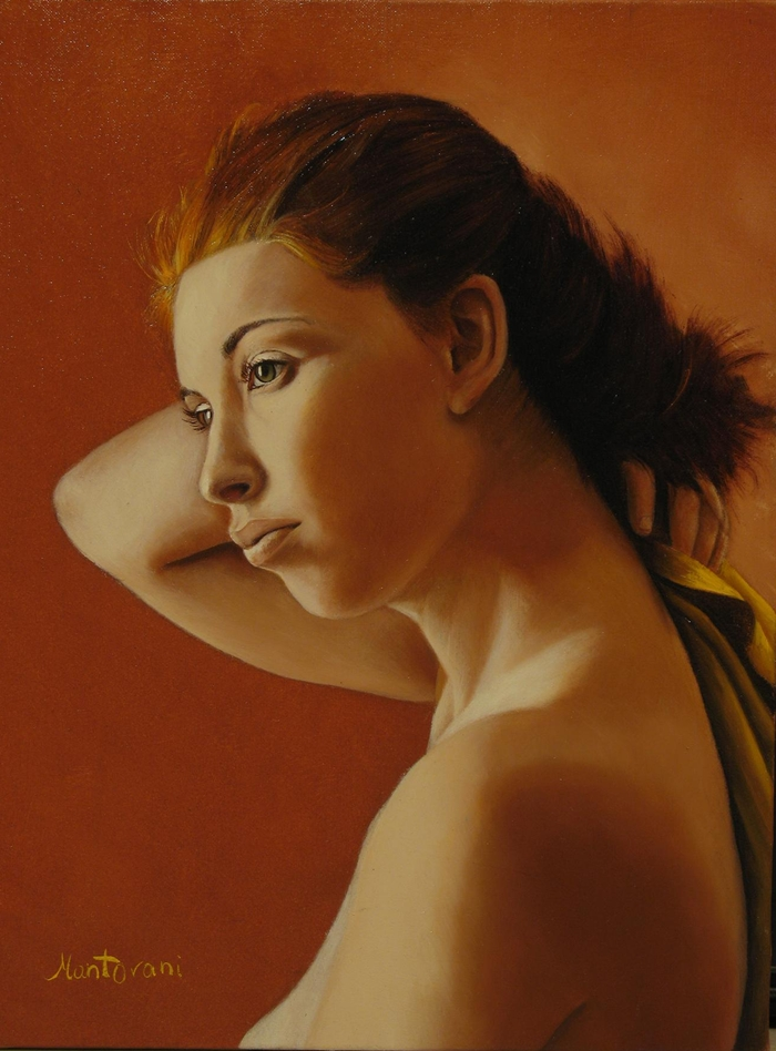Gianluca Mantovani 1974 | Italian realist painter