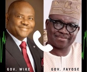 Fayose Blasts DSS: It's Shameful That DSS Is Leaking Our Phone Conversations during Wike Re-run election
