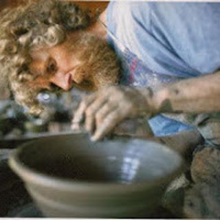 Le tournage aux pieds, poterie, jpeg