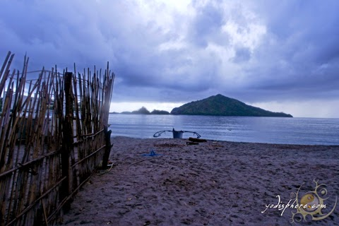 Peaceful beach of Silanguin Cove in Zambales hover_share